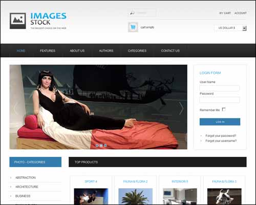 AS 002053 Free Joomla VirtueMart Templates